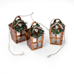 Hanging Lantern Box garland
