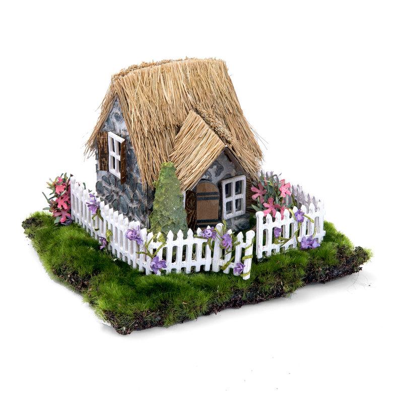 Springtime Irish Cottage by Wendy Cuskey for Sizzix