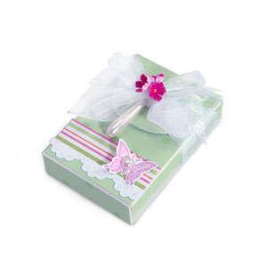 Butterfly Flower Charm Box by Debi Adams