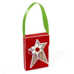 Star & Snowflake Gift Box by Debi Adams