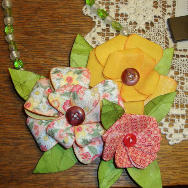 Wearable art from Madeline Arendt for Sizzix
