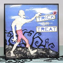 Trick or Treat featuring Tim Holtz Alterations from Sizzix