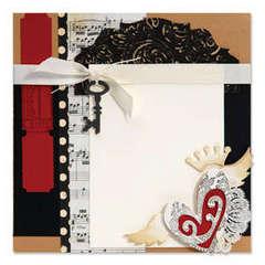 Heart with Wings Message Board by Debi Adams