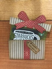 Coffee Giftcard Holder