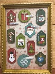 Christmas Framed Tags