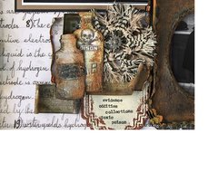 New Mini Apolecary from Sizzix Tim Holtz Framelit Collection
