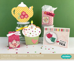 Tea Party from Traci Penrod for Lori Whitlock and Sizzix