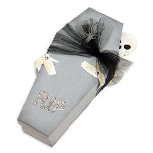RIP Coffin & Skeleton by Beth Reames