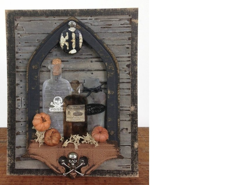 New Apothecary Bottles from Sizzix