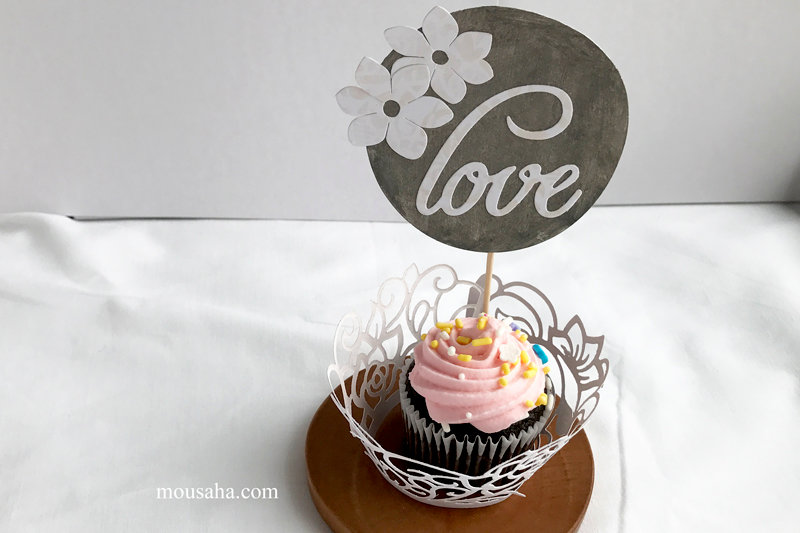 Perfect Little Girl Tea Party Decor by Mou Saha for Sizzix