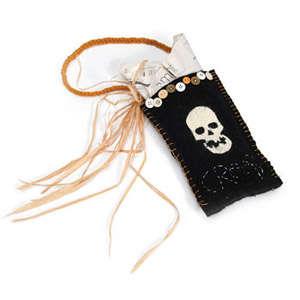 Skull Favor Bag by Debi Adams