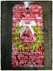 Tim Holtz 2011 12 Tags of Christmas - Tag 5