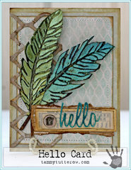 Hello Card by Tammy Tutterow