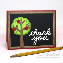 Thank You by Jeanne Streiff for Sizzix