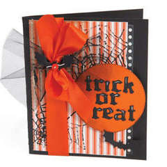 Trick or Treat Card by Debi Adams