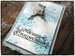 Tim Holtz 12 Tags of Christmas - Tag 3 Alternative Project