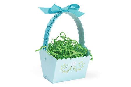 Easter Basket with Vines by Debi Adams