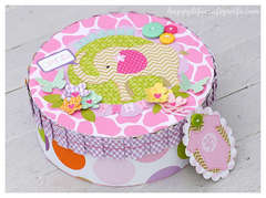Gift Box by Tamara Tripodi featuring Sizzix Eclips ECAL Software