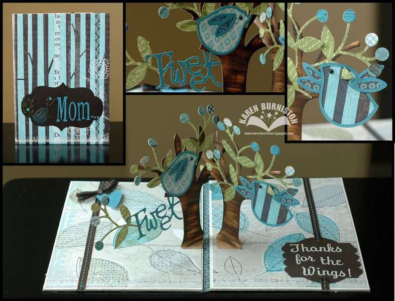 Pop Up Mother's Day Card by Karen Burniston