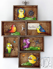 Tim Holtz Bird Crazy with Sizzix
