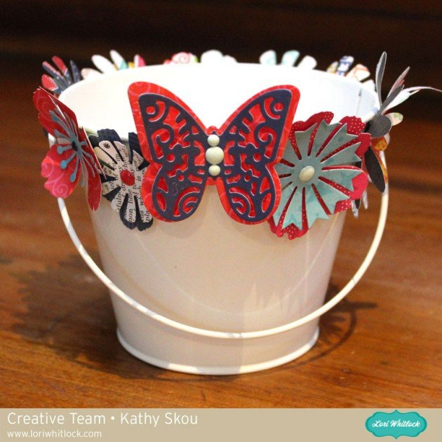 Fourth of July Party Decor by Kathy Skou for Lori Whitlock and Sizzix