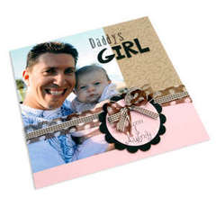 Daddy's Girl Scrapbook Page by Cara Mariano