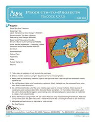 New Moroccan Collection Project from Sizzix