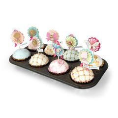 Cupcake Toppers by Brenda Walton
