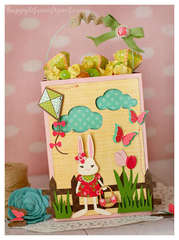 Easter Bag by Tamara Tripodi featuring Sizzix Eclips ECAL Software