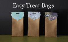 Easy Treat Bag Toppers