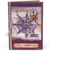 happy halloween by Tim Holtz