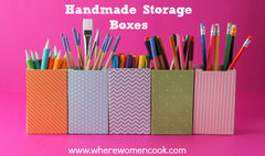 Handmade Storage Boxes