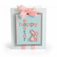 Geometric Happy Easter Card