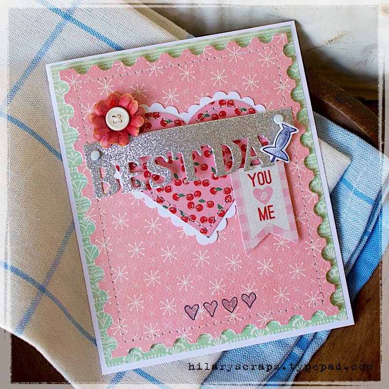 Celebrate the Best Day Ever With This Cute Card Make by Hilary Kanwishcer for Sizzix