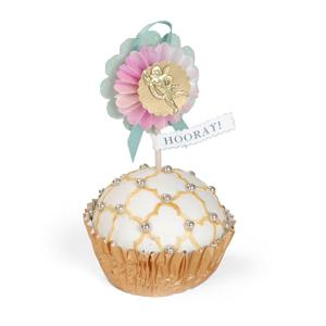 Hooray Cupcake Topper by Brenda Walton