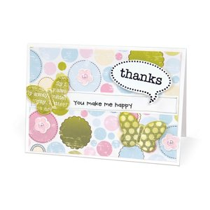 Thanks, You Make Me Happy Card by Deena Ziegler