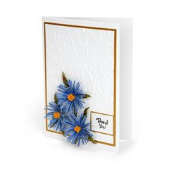 Thank You Aster Card by Susan Tierney-Cockburn
