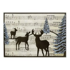 Woodland Reindeer Card by Wendy Cuskey
