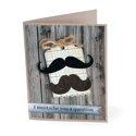 "I ""Mustache"" You a Question Card by Debi Adams"