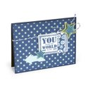 You Mean the World to Me Card #2 by Deena Ziegler