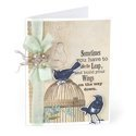 Build Your Wings Card by Deena Ziegler