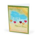 Keep Moving, Rain or Shine Card by Deena Ziegler
