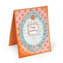 Happy Birthday Mirror Card by Deena Ziegler