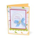 Birdie Birthday Greeting Card by Deena Ziegler