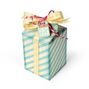 December 25th Milk Carton Gift Box by Deena Ziegler