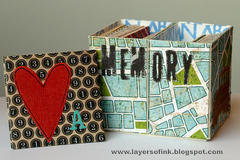 Die Cutting Paper: Memory Game with Sizzix Mat Board