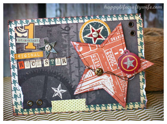 Rockstar by Tamara Tripodi featuring Sizzix Eclips ECAL Software