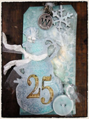 Tim Holtz 2011 12 Tags of Christmas - Tag 4