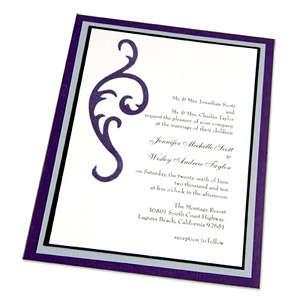 Elegant Wedding Invitation by Beth Reames