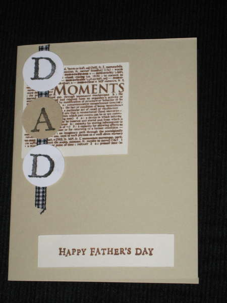 Father's Day Card for Swap